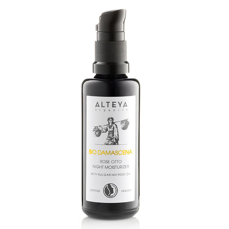 Alteya Organics Rose OTTO Night Moisturizer 50ml