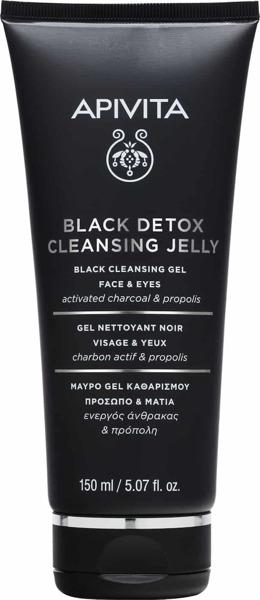 Apivita Black Detox Cleansing Jelly 150ml