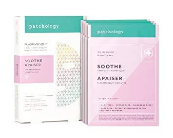 Patchology FlashMasque Soothe Apaiser 4pcs