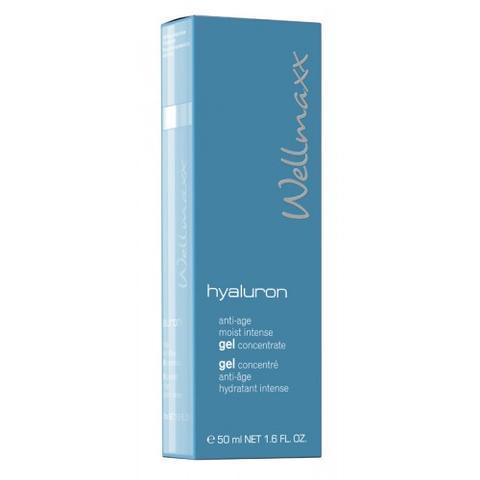 Wellmaxx hyaluron anti age moist intense gel concentrate 50ml
