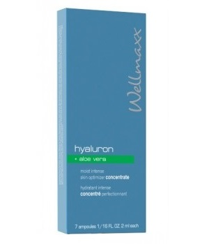 hyaluron + Aloe Vera moist intense skin Optimizer concentrate7 x