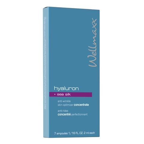 hyaluron + Sea Silk anti-wrinkle concentrate
