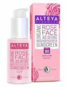 Alteya Organics Rose Face Sunscreen