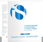 Foaming enzyme masque system