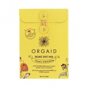 Orgaid Vitamin C & Revitalizing Organic Sheet Mask 4pcs